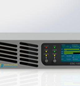 EVOLUTION BROADCAST – EBC100W – 100W COMPACT FM SOLID STATE TRANSMITTER